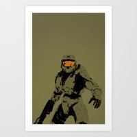 Master Chief Redux Art Print