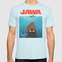 JAWA Mens Fitted Tee Light Blue SMALL
