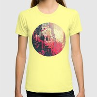 Street of London1 Womens Fitted Tee Lemon SMALL