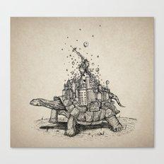 Tortoise Town Canvas Print