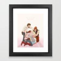 TWD: What Should Have Ha… Framed Art Print