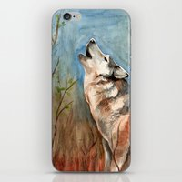 Lone Wolf iPhone & iPod Skin