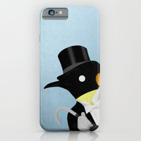 penguin iPhone & iPod Cases featuring Penguin by Chase Kunz