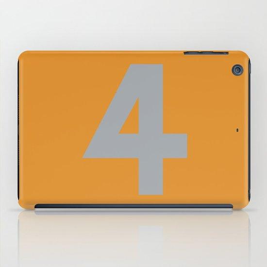 Number 4 iPad Case