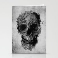 Skull 2 / BW Stationery Cards