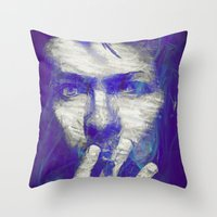 Tribute To The Legend  Throw Pillow