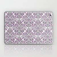 Damask Nature Pink Laptop & iPad Skin
