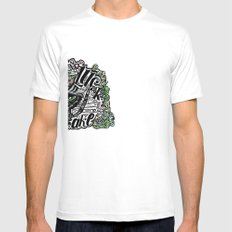 Good Luck  Mens Fitted Tee SMALL White