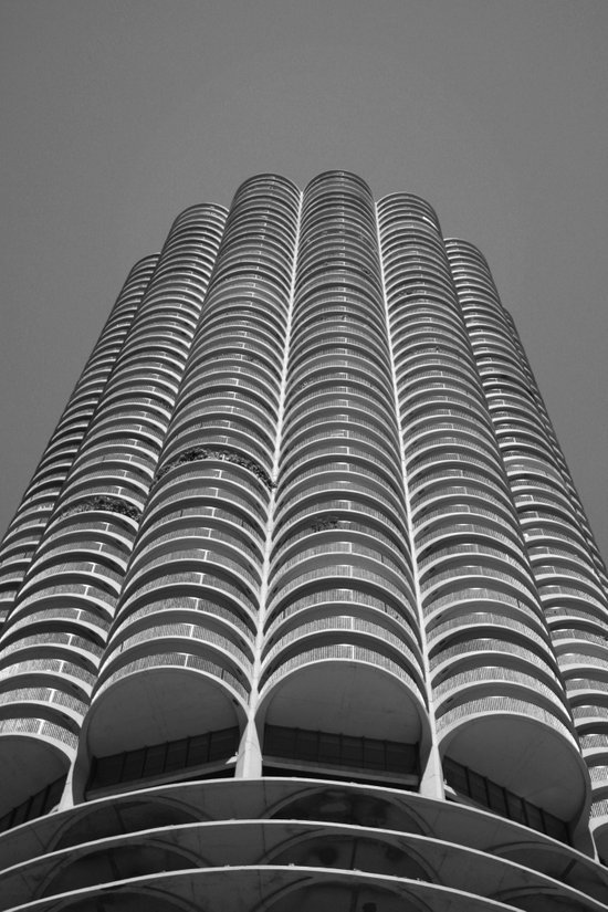 Marina City Tower Photo, Chicago, Architecture Art Print
