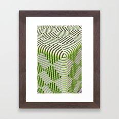The Box Framed Art Print