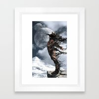 The Shedding Of Darkness 2 Framed Art Print