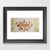 Everything starts with One Framed Art Print