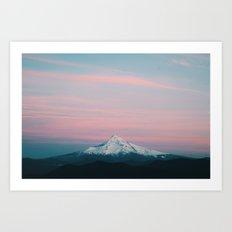 Mount Hood V Art Print