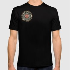 Wedding Basket v2 Mens Fitted Tee Black SMALL