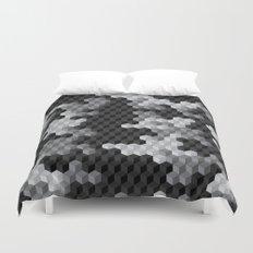 CUBOUFLAGE BLACK & WHITE Duvet Cover