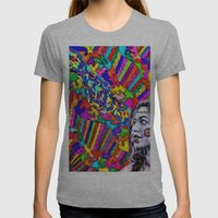 A Colorful Vision  Womens Fitted Tee Athletic Grey SMALL