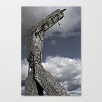 Modern Ruin Canvas Print