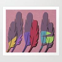 Feather1 Art Print