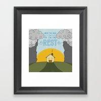 You Can Find Rest Framed Art Print