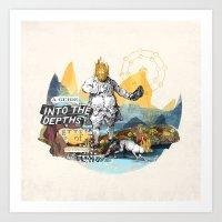 Into The Depths Art Print