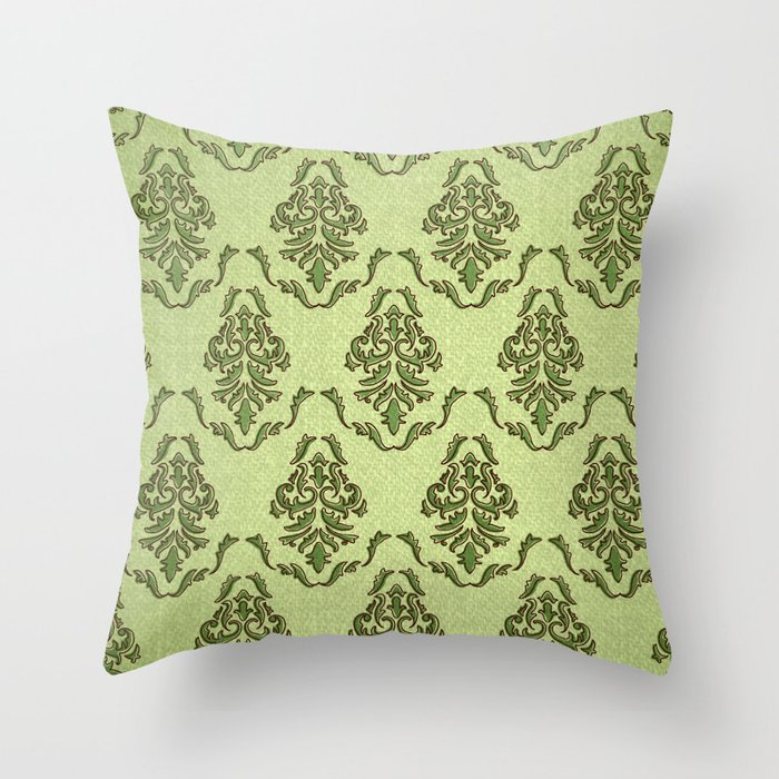 Doodle Victorian Throw Pillow by Janreh Society6