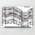 Zentangle Architectural Molding iPad Case