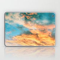 Blue Sunset Clouds  Laptop & iPad Skin