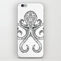 Mandarin Dragonet Octopus iPhone & iPod Skin