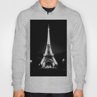 Paris Black & White Hoody
