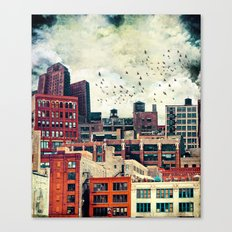 The Rooftop #6 Canvas Print