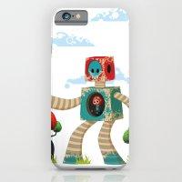 iPhone & iPod Case featuring Woody Mecha by Teodoru Badiu