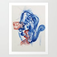 Dial-a-psychic Art Print