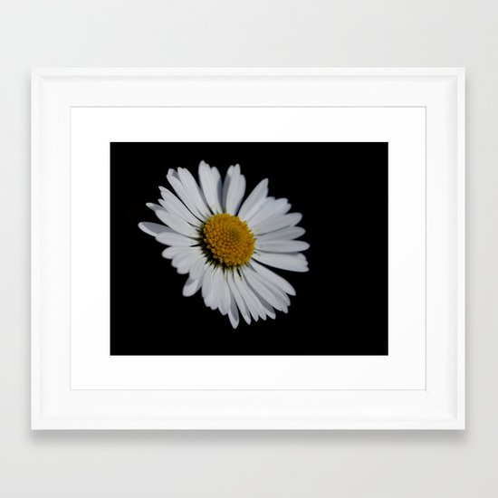 I like daisies Framed Art Print