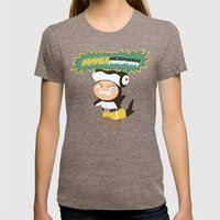 The Great Hammerheadman Womens Fitted Tee Tri-Coffee SMALL