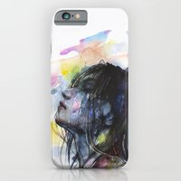 iPhone Cases featuring the layers within by agnes-cecile