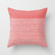 Riverside - Cayenne Throw Pillow
