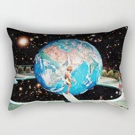 Rectangular Pillow - Emerging Planet - Eugenia Loli