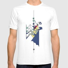 The POW! of love SMALL Mens Fitted Tee White