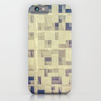 iPhone Cases featuring Dawn City by Metron