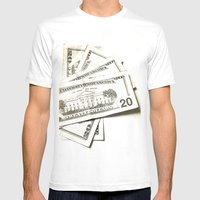 I Need Dollars..... Mens Fitted Tee White SMALL