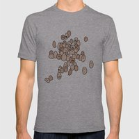 Eggs Mens Fitted Tee Athletic Grey SMALL