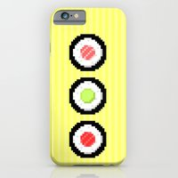 iPhone & iPod Case featuring Pixel Maki Sushi by Sombras Blancas Art & Design