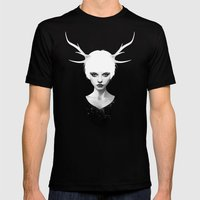 Space Within Mens Fitted Tee Black SMALL