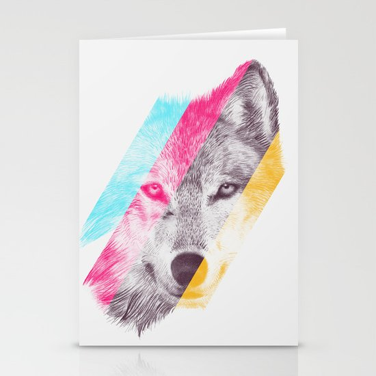 Wild 2 - by Eric Fan and Garima Dhawan Stationery Card