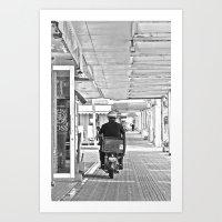郵便配達  Yūbin Hai… Art Print