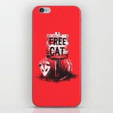Free cat iPhone & iPod Skin