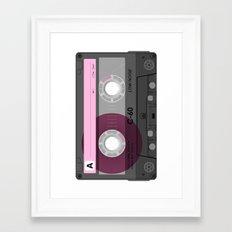 Cassette Framed Art Print