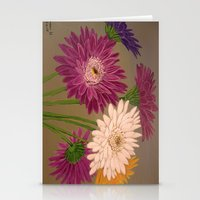 Gerberas Stationery Cards
