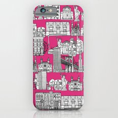 New York pink Slim Case iPhone 6s
