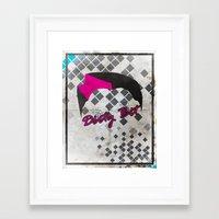 Dirty Bit Framed Art Print